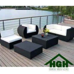 Sofa mây nhựa HGH103