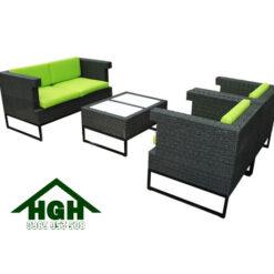 Sofa mây nhựa HGH104