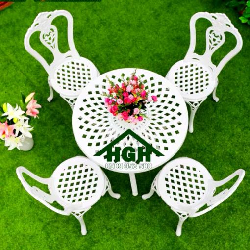 Bàn ghế sân vườn HGH 38
