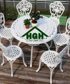 Bàn ghế sân vườn ngoài trời HGH 40