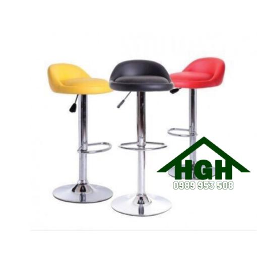 Ghế quầy bar chân trụ HGH 23