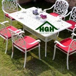 Bàn ghế sân vườn ngoài trời HGH 41