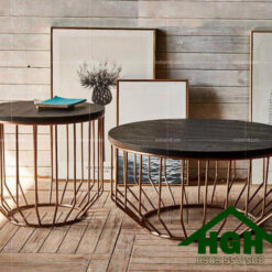 Bàn sofa mặt gỗ HGH 53