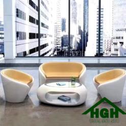 Bàn ghế sofa hiện đại HGH 48