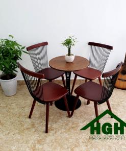 Bàn ghế cafe HGH 31