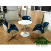 Bàn ghế cafe nhựa HGH 04