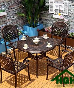 Bàn ghế sân vườn phong cách cổ điển HGH 34