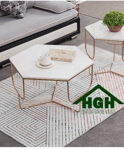 Bàn sofa đôi lục giác HGH64