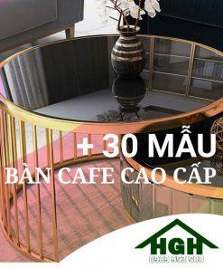 Bàn sofa cafe cao cấp HGH110